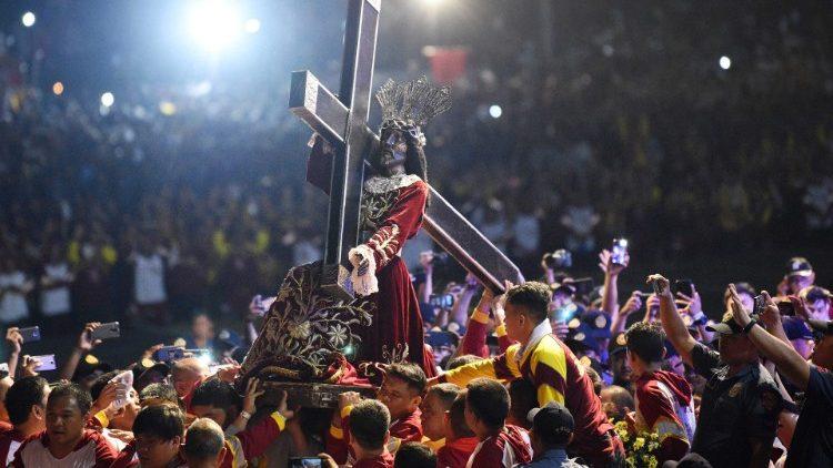 Procesja Czarnego Nazarejczyka w Manili