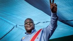 Opposition leader Felix Tshisekedi, DRC's declared winner