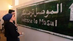 CORRECTION-IRAQ-MOSUL-MUSEUM-ART