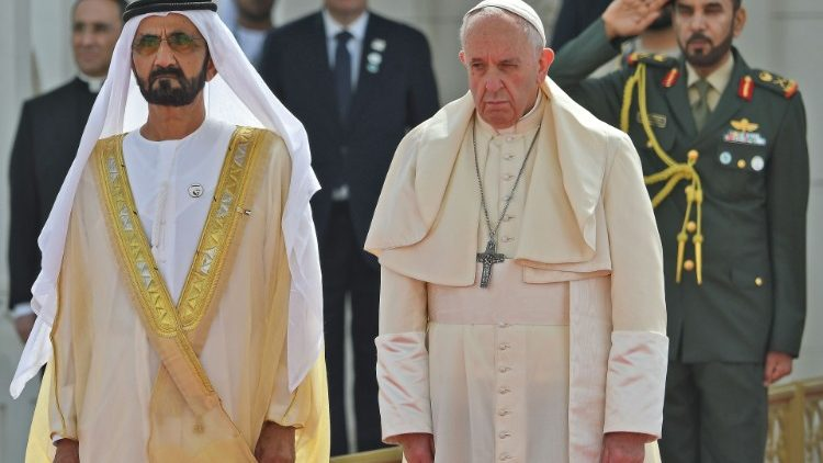 UAE-VATICAN-RELIGION-POPE