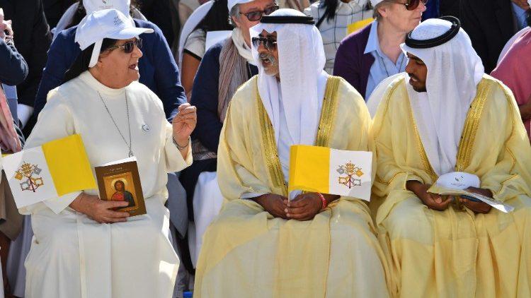 Papieska podróż do Abu Zabi
