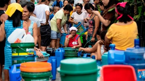 Manila's worst water crisis in a decade.