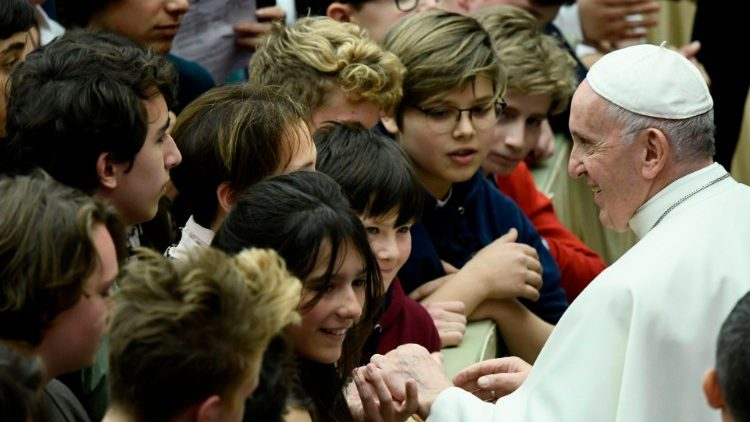 Youth from Paduva high school to meet Pope Francis