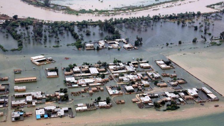 Inundaciones Irán