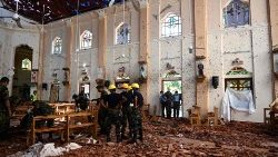 Sri Lanka attentato 2019