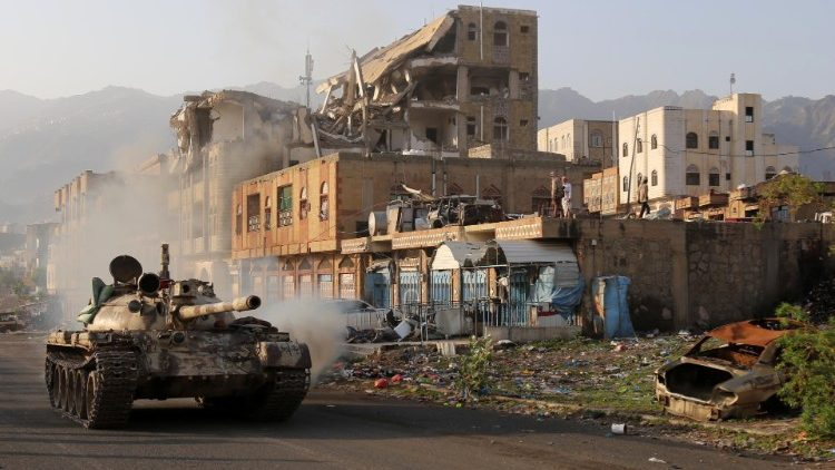 The civil war in Yemen.
