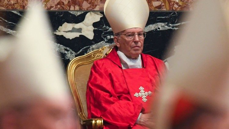 Il cardinale Giovanni Battista Re