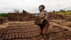 Child labour in Malawi.