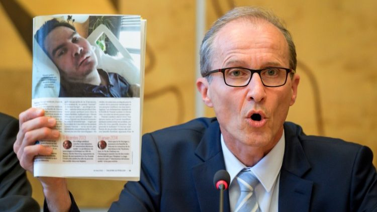 Vincent Lambert ONU Ginebra suspensión tratamiento