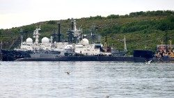 A submarine in the Russian city of Severomorsk