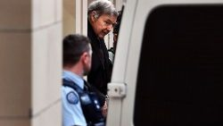 Cardinal Pell leaves the Supreme Court of Victoria on Wednesday