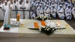 Mother Teresa's 109th birthday  being  celebrated at her tomb in Kolkata, India, 26 August, 2019.
