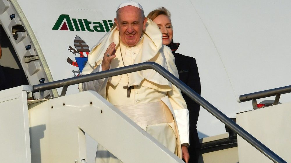 ITALY-RELIGION-POPE-MOZAMBIQUE
