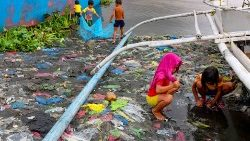 Environmental degradation in the Philippines.