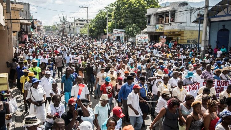 Catholics in Haiti demand president step down