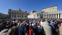 St Peter's Square during Angelus