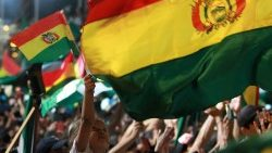 Protesters in Bolivia rally against alleged electoral fraud