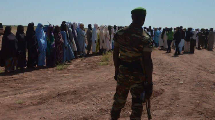 Soldado nigeriano - Agadez.