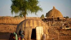 A village in the Soum region in northern Burkina Faso