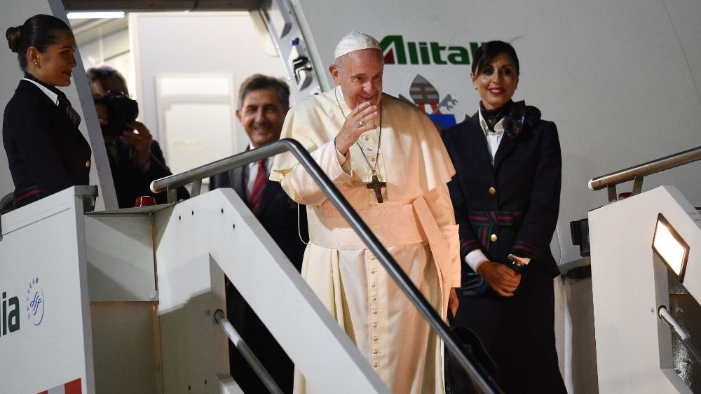 ITALY-VATICAN-RELIGION-POPE-THAILAND-JAPAN