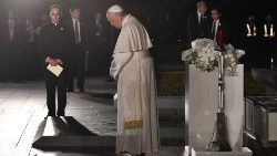 Pope in Hiroshima: Use and possession of atomic energy for war is immoral