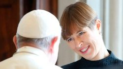 Pope Francis receives the President of Estonia in audience