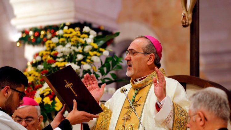Pizzaballa: il 2020 porti dialogo e responsabilità in Medio Oriente -  Vatican News