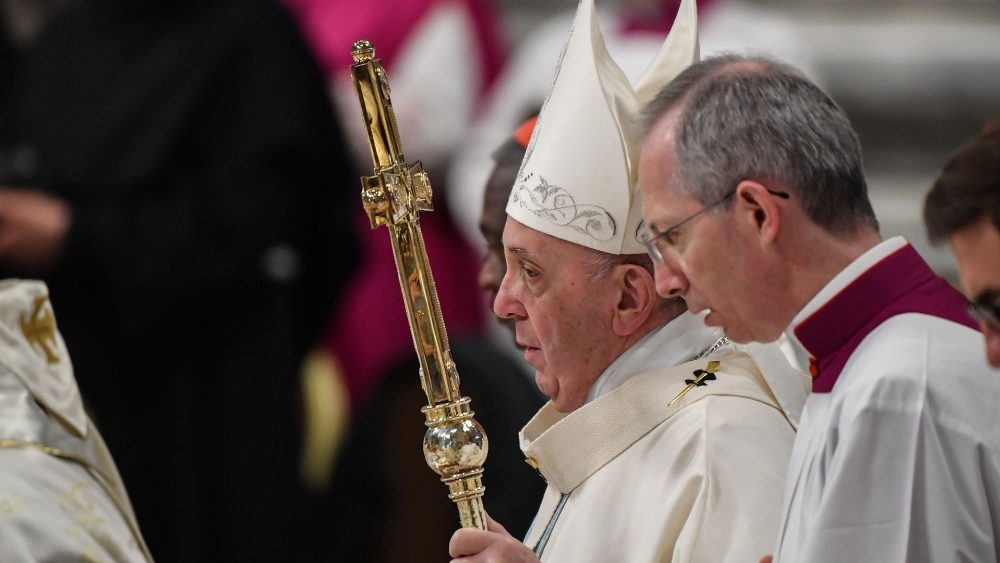VATICAN-POPE-MASS-NEW-YEAR