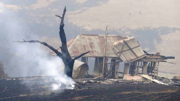 Incêndios já mataram mais de 25 pessoas em todo o país e deslocaram milhares