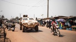 UN troops in Bangui, Central African Republic