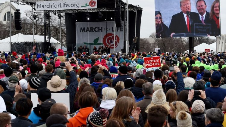 Trump addresses annual 'March for Life' anti-abortion rally
