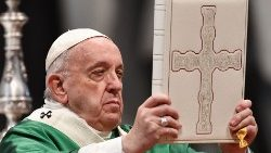 VATICAN-RELIGION-POPE-WORD OF GOD-MASS