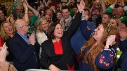 La leader di Sinn Fein, Mary Lou McDonald