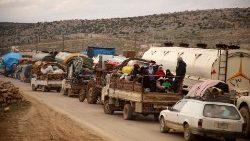 Francesco: preghiamo per l'amata Siria che sanguina da anni