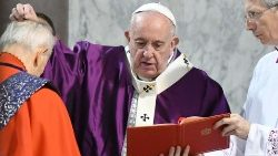 ITALY-VATICAN-POPE-ASH-WEDNESDAY