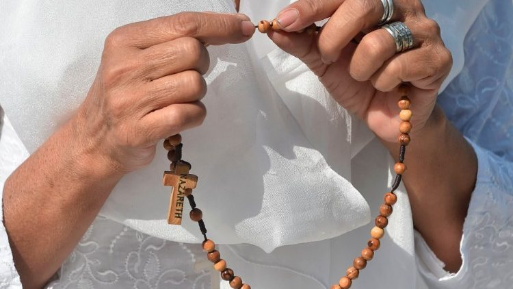 The annual Global Rosary Relay for the Sanctification of all Priests