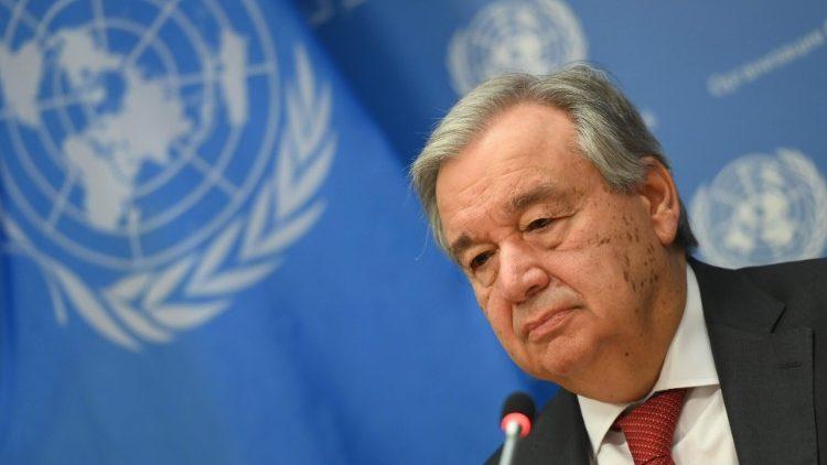 ONU, Guterres: confinamiento causa fuerte aumento de violencia de género -  Vatican News