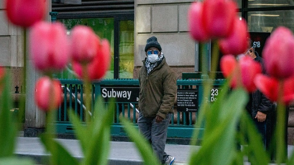 US-CORONAVIRUS-PANDEMIC-CAUSES-CLIMATE-OF-ANXIETY-AND-CHANGING-R
