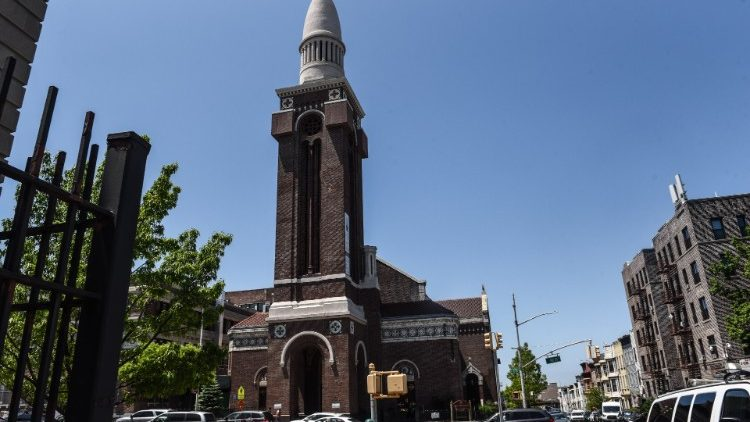 St. Michaels-Kirche in Sunset Park in Brooklyn