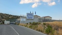 Migrant detention centre in the Larnaca district