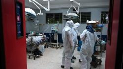 EL SALVADOR-HEALTH-VIRUS-INTENSIVE CARE UNIT
