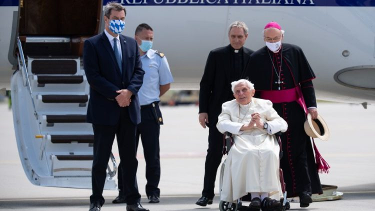GERMANY-POPE-RELIGION-HEALTH
