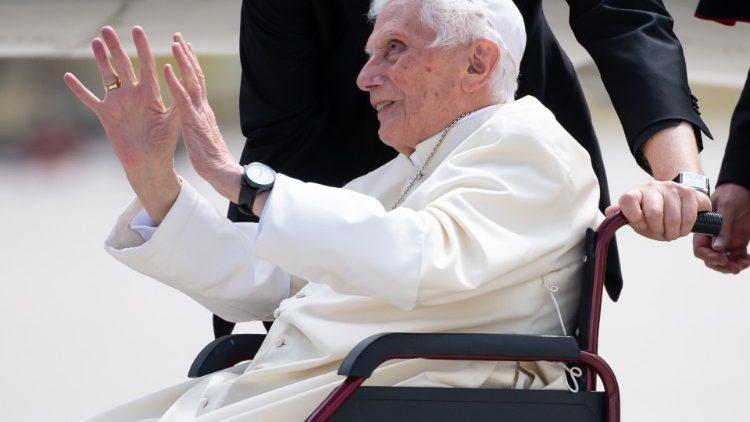 Der emeritierte Papst Ende Juni in München