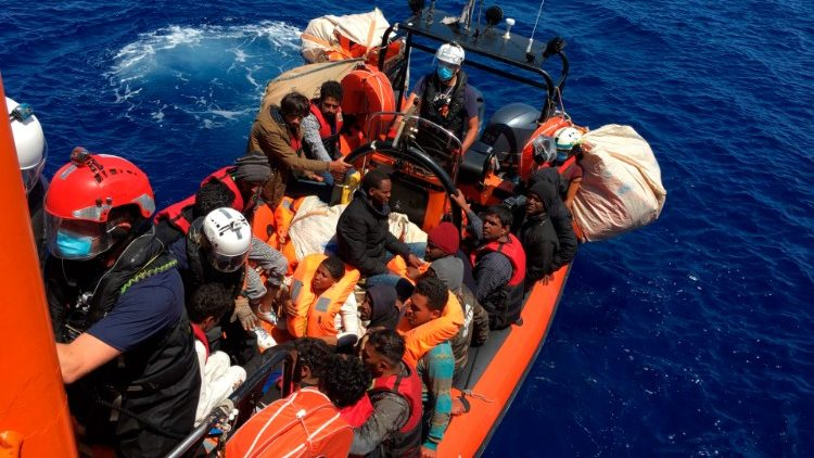 Migrants risking their lives at sea
