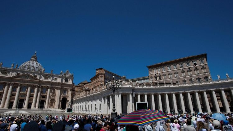 St. Peter's Square in the Vatican.