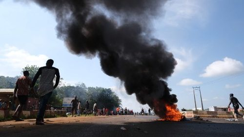 Tyres set on fire in Apo, Abuja - the capital city