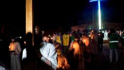 Christians make a pilgrimage to Kita in Mali