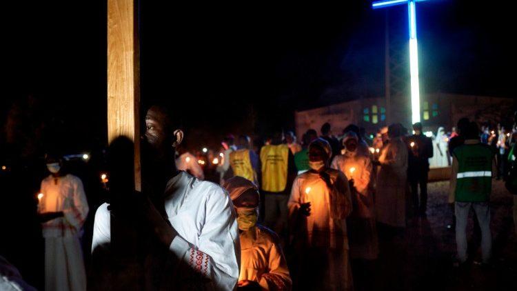 Christians make a pilgrimage to Kita in Mali