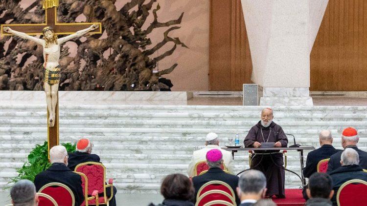 Cardenal Cantalamessa, predicación de Adviento