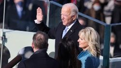 Joe Biden under installationen